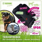 Aparat anti caini pisici cu ultrasunete portabil Free Mobile 70630, Oem