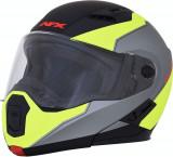 Casca AFX FX-111 Flip-Up Negru mat-Galben Marime L Cod Produs: MX_NEW 01001893PE