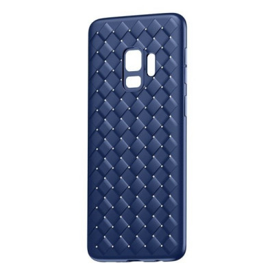 Husa Baseus BV Weaving Silicon pentru Samsung Galaxy S9 Albastru foto