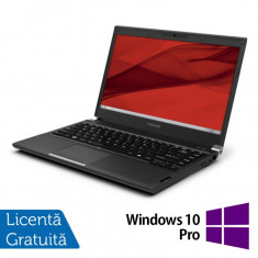 Laptop Toshiba Portege R940, Intel Core i5-3340M 2.70GHz, 4GB DDR3, 320GB SATA, DVD-RW, 13.3 Inch + Windows 10 Pro, 4 GB, HDD