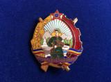 Insignă militară - Insignă România - Fruntaș - Pentru Merite Grănicerești - RPR