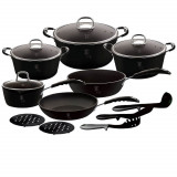 Set Oale 15 Piese Black Professional Berlinger Haus BH 6129