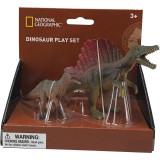 Set 2 figurine - Spinosaurus si Dilophosaurus, National Geographic