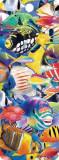 Semn de carte 3D - Fish Jam