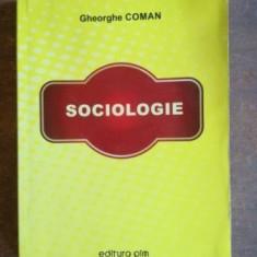 Sociologie- Gheorghe Coman