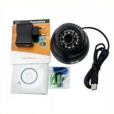 Camera video supraveghere cu inregistrare pe card USB-DB901B, Cu fir, Dome