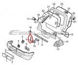 Tija comanda incuietoare hayon Renault Twingo 1., produs original 7700817779 Kft Auto