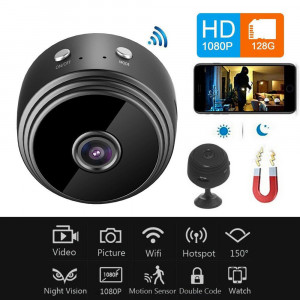 Mini Camera de supraveghere Ip,A9 WiFi 1080P Full HD Night Vision Wireless