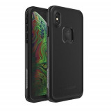 Carcasa waterproof LifeProof Fre iPhone XS Max Asphalt Black