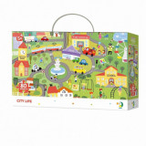 Puzzle - Orasul (80 piese) PlayLearn Toys, Dodo