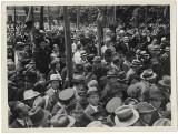 B1945 Preoti militari civili romani la manifestatie antirevizionista Oradea 1933