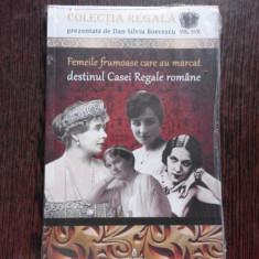 FEMEILE FRUMOASE CARE AU MARCAT DESTINUL CASEI REGALE ROMANE - SILVIU BOERESCU