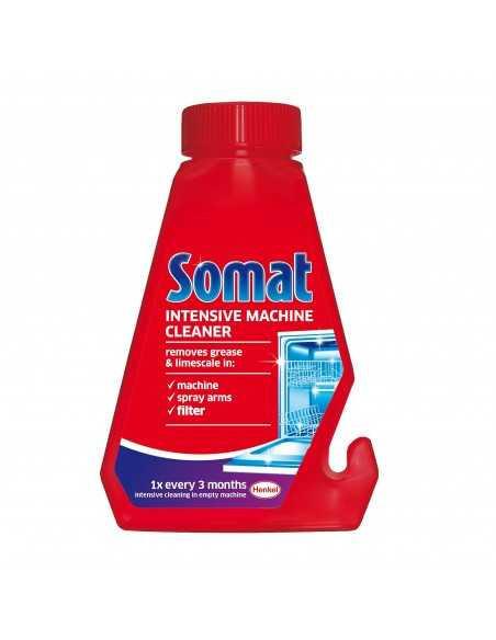 Solutie pentru curatarea masinii de spalat vase Somat Machine Care 3X Action, 0.25 l