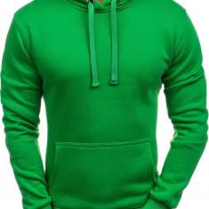Bluză pentru bărbat cu glugă verde Bolf AK47-6