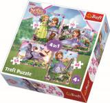 Cumpara ieftin Puzzle Trefl 4In1 Lumea Sofiei