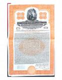 Obligatiune $1000 dolari Aur 1929 la purtator, cu cupoane neplatite, Generic