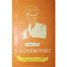 N . A . OSTROVSKI - N . VENGROV , M . EFROS