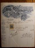 DOCUMENT VECHI ORADEA 1903 - VEISZLOVITS ES FIA - OVARY SANDOR - RARITATE