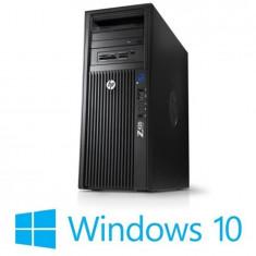 Workstation Refurbished HP Z420, Xeon E5-1650, 500GB, Quadro 2000, Win 10 Home