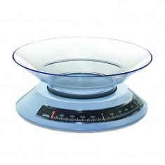 Cantar mecanic de bucatarie cu bol Laica KS2002, 2 kg, Albastru