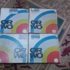 BENZI MAGNETOFON, 4 bucati cu muzica DISCO ANII 80