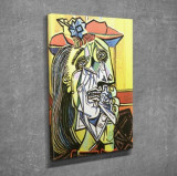 Tablou decorativ, Vega, Canvas 100 procente, lemn 100 procente, 30 x 40 cm, 265VGA1055, Multicolor