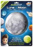 Sticker decorativ fosforescent - Luna | Buki