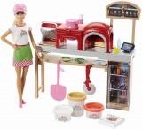Papusa Barbie Pizza Chef cu accesorii, Mattel