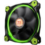 Ventilator pentru carcasa Thermaltake Riing 12 LED Green