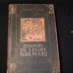 20.000 DE LEGHE  SUB MARI-JULES VERNE-COL. CUTEZAT-TRAD. LUCIA SADOV.-GELU NAUM