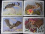 Zambia-Lilieci-serie completa-nestampilate, Nestampilat