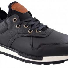 Pantofi Barbati Casual Negri - RoadsterXL, 40, 43, 44
