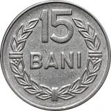 ROMANIA, 15 bani 1966_XF+++ cu luciu de batere * cod 113, Fier