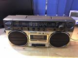 RADIO CASETOFON BOOM BEAT VECHI SHARP GF-6565
