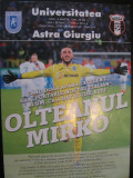 Program de meci Universitatea Craiova-Astra (4 martie 2019)