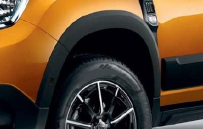 Duster II (2018-) - Kit protectii de aripi (compatibil camera 360 grade) foto