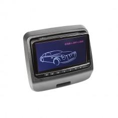 Resigilat : Monitor auto PNI MD970-B negru cu ecran de 9 inch, DVD player, slot US