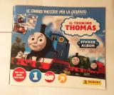 Album stickere Panini Locomotiva Thomas, necompletat, 2016, Il trenino Thomas
