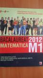 Bacalaureat matematica M1 2012 - Adrian Zanoschi, Gheorghe Iurea