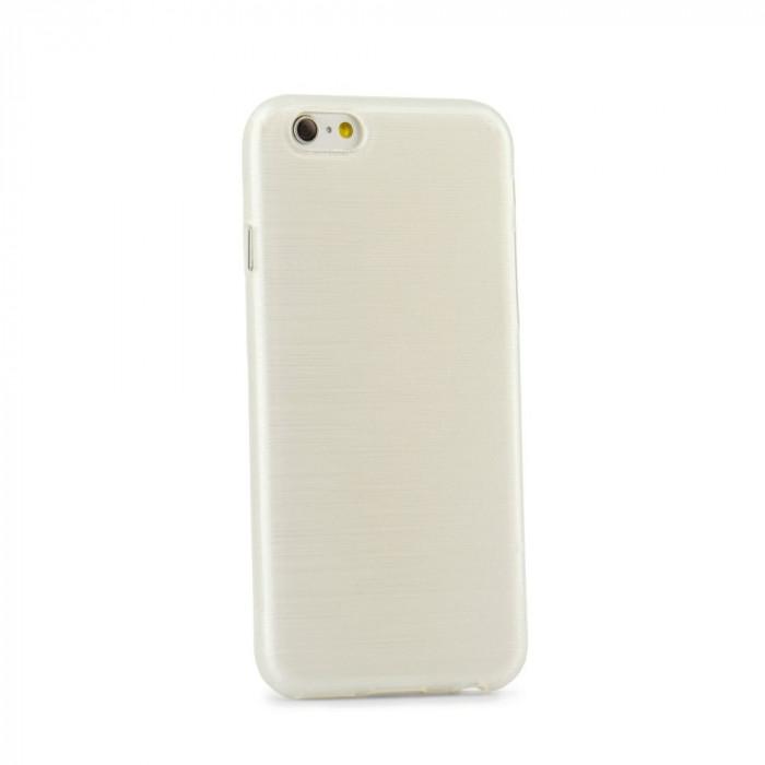 Husa SAMSUNG Galaxy S6 Edge - Jelly Brush (Alb)