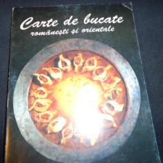 CARTE DE BUCATE ROMANESTI SI ORIENTALE-TANTI MALINA-216 PG-