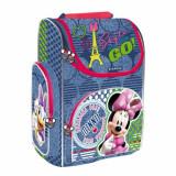 Ghiozdan scoala cu pereti rigizi Minnie Mouse Style on the Go Starpak
