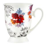 Cumpara ieftin Cana 300ml model flori Diana