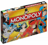 Joc Monopoly - DC Comics Retro