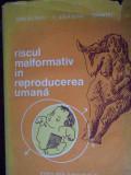 Riscul Malformativ In Reproducerea Umana - M. Ifrim, V. Salagean, I. Vintu ,302880