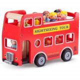 Autobuz Turistic cu 9 Figurine