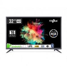 Televizor LED Gazer TV32-HS2G, Android Smart TV, IPS HD Ready, 80cm