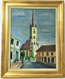 Pictura Tablou Spiru Vergulescu ,,Ulita''