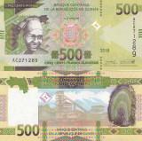 Guinea 500 Francs 2018 UNC