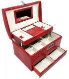 Cumpara ieftin Cutie bijuterii Secret Red Croco by Borealy